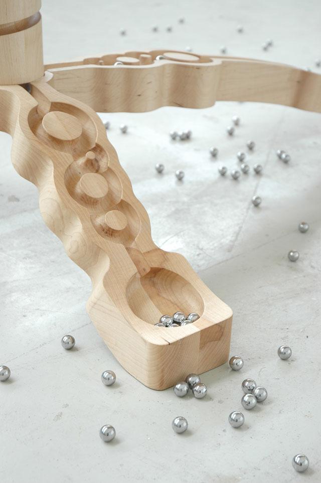 Marbelous table by Ontwerpduo