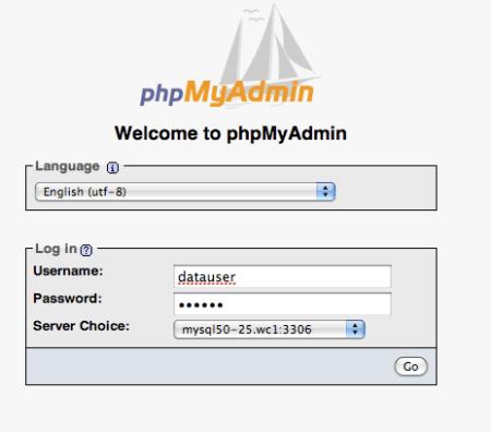 phpmyadminlogin