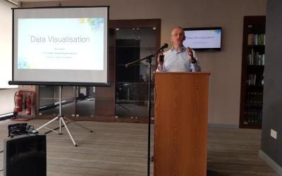 Speaking on Data Visualisation at CIM Wales Analytics Masterclass 2018
