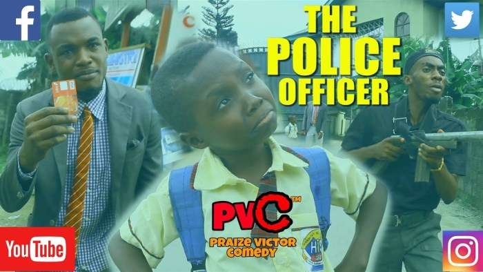 Praize Victor Comedy- Police Officer