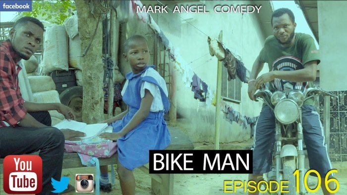 Mark Angel Comedy – Bike Man