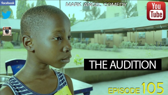 Mark Angel Comedy – The Audition