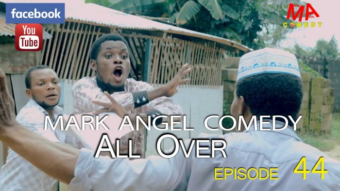 Mark Angel Comedy – All Over