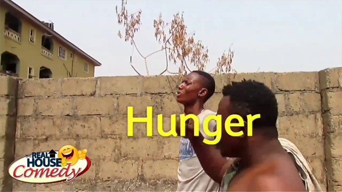 Watch what Hunger made this people to do (Real House Of Comedy) (Nigerian Comedy)