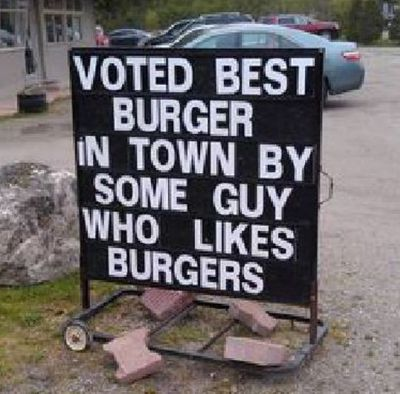 Oh that guy voted