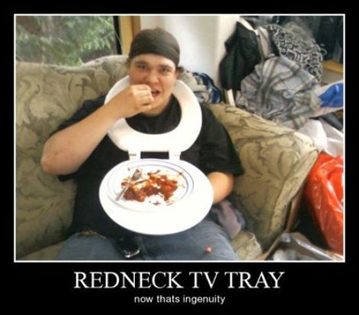 Redneck Feeding Time
