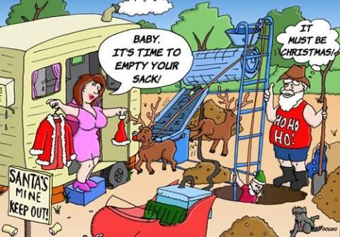 Santa Gets Lucky