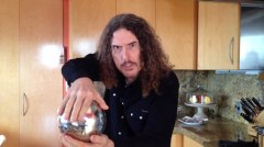 Weird Al Yankovic Floating Orb