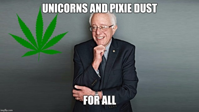 Bernie's Big Secret is what, maybe 40 acres and a unicorn image
