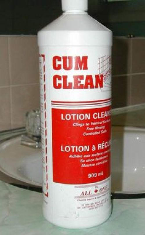 You want a cleaner for what