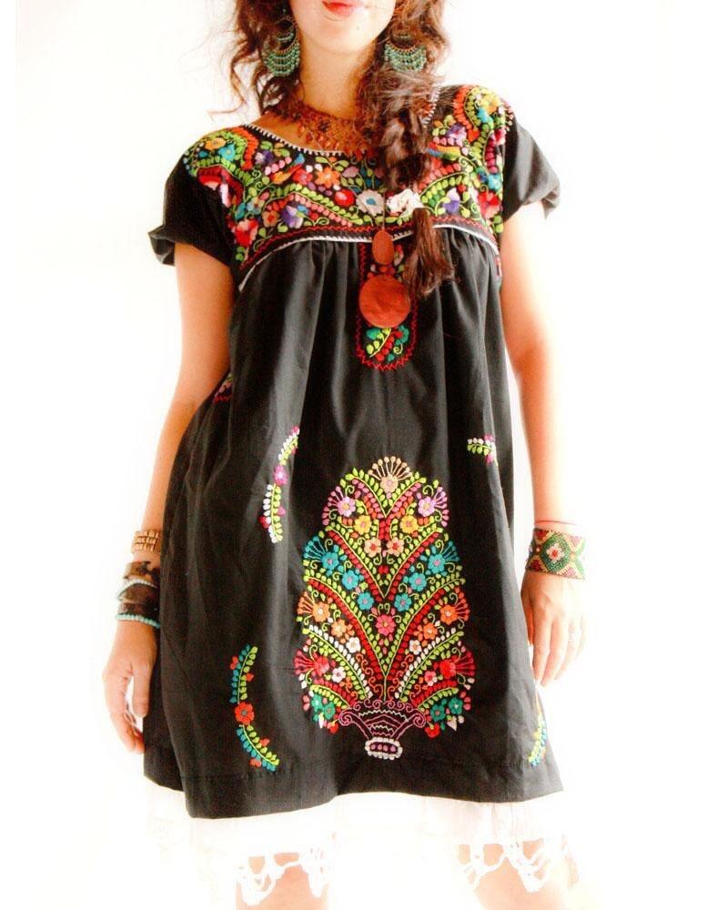 Vestidos Bordados Mexicanos Para Fiestas