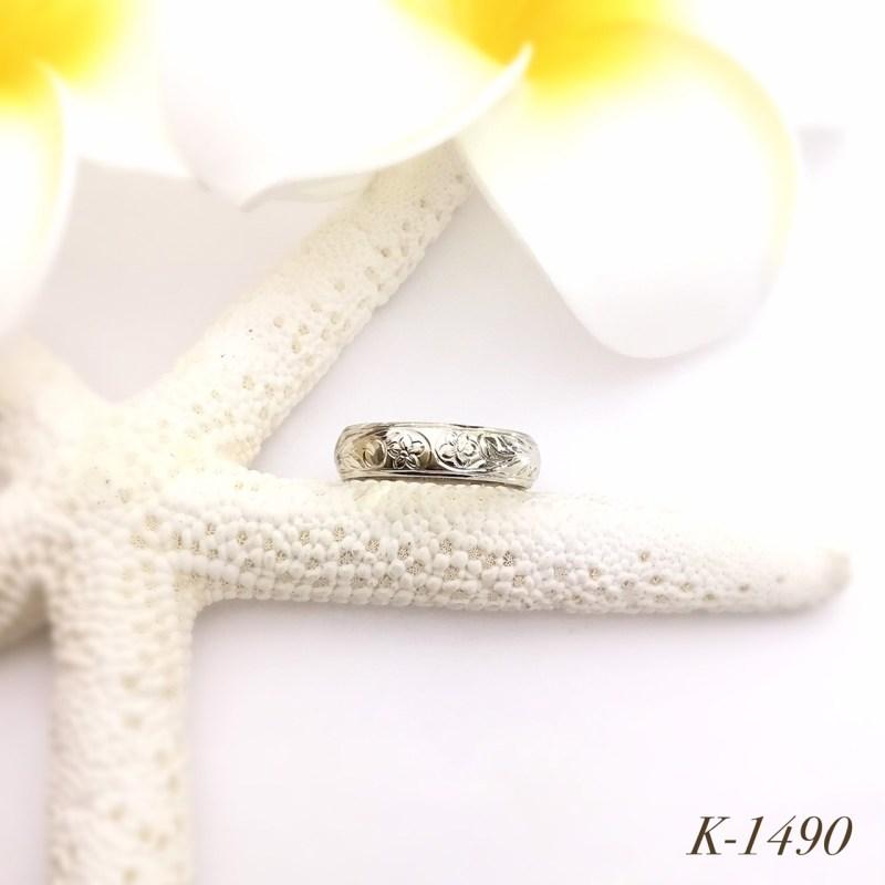 K-1490 ホワイトゴールドリング