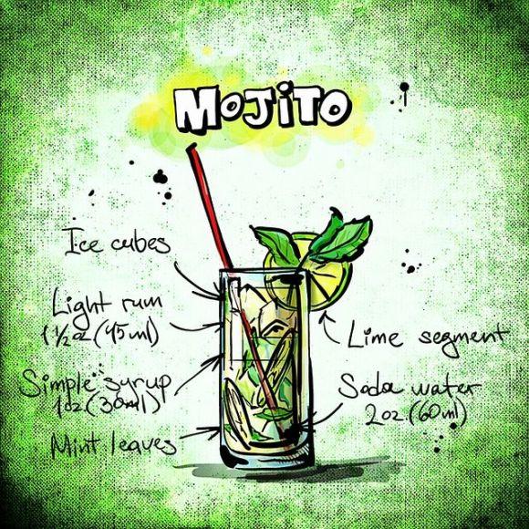 receta cocktail mojito