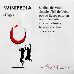 Winipedia Qué es un vino alegre