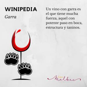 Winipedia Qué es un vino con garra