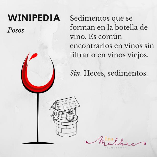 Que es un vino con posos, #winipedia