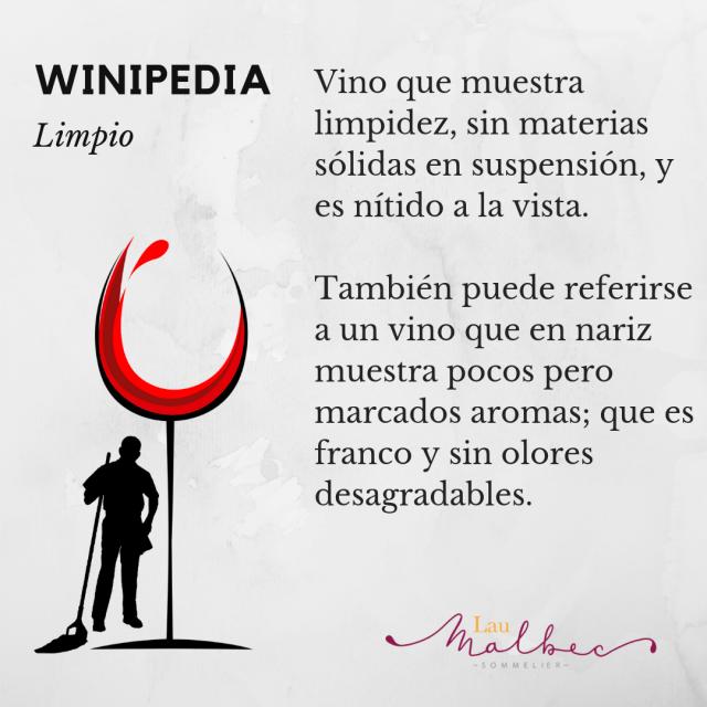 Qué es un vino limpio?, Winipedia