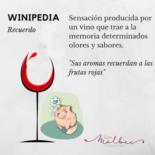 Qué es un recuerdo en cata de vino #Winipedia