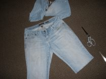 85. Get the Guts to Make Cut-offs out of My Jeans