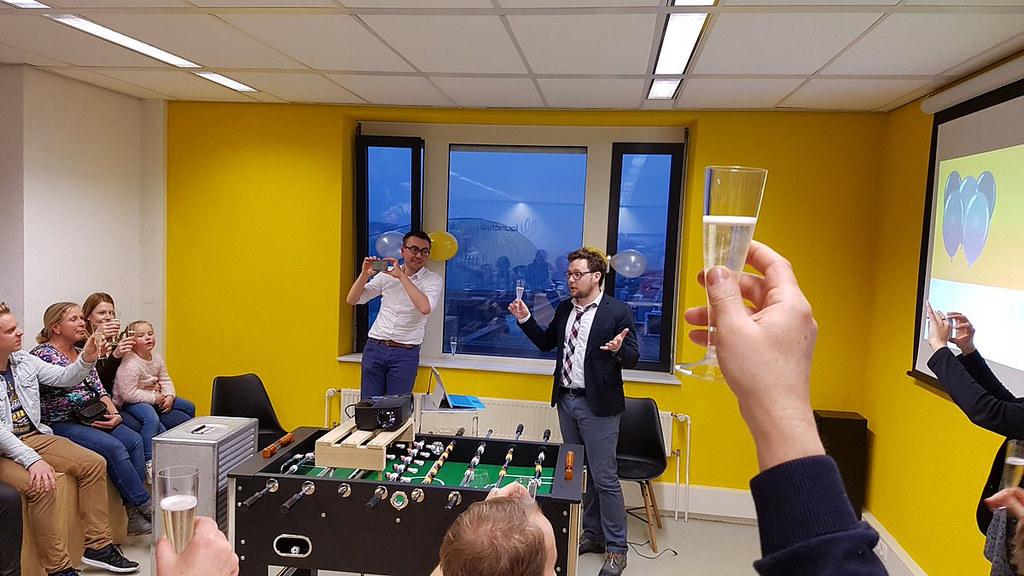 Launchlab Zwolle bestaat een jaar