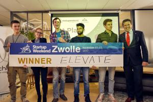 'Job Tinder' ELEVATE wint Startup Weekend Zwolle 2017