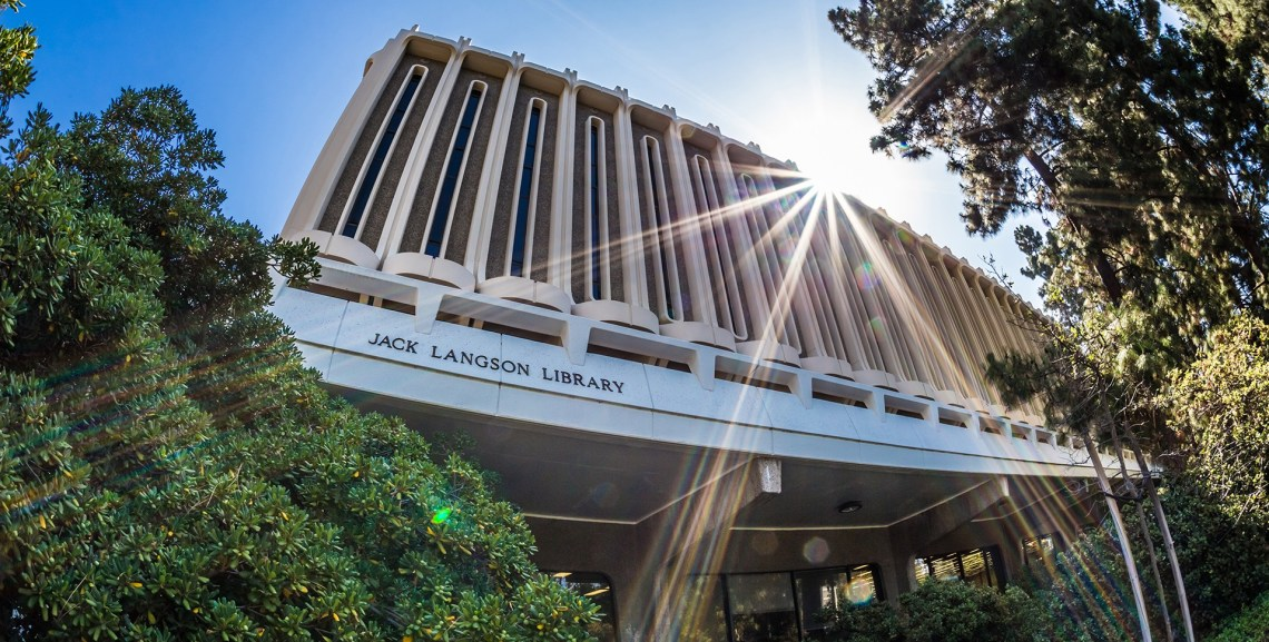 UCI's Jack Langson Library
