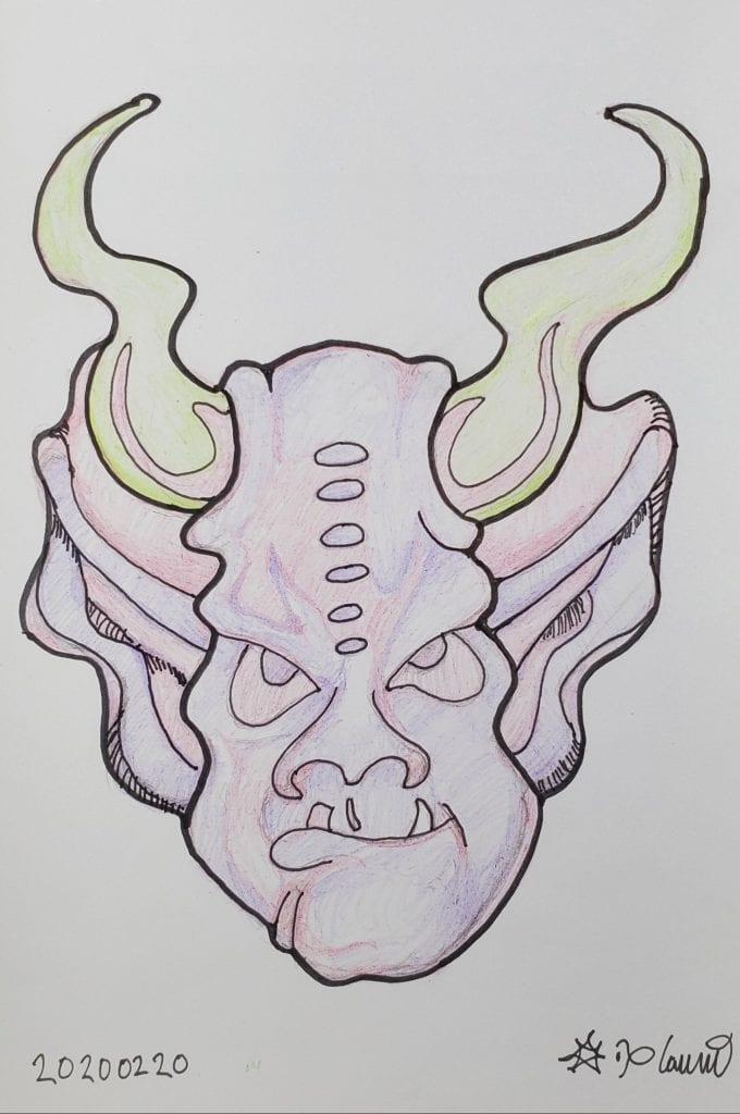 Gargoyle doodle