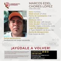 Buscan a Marcos Edel, desapareció en El Tejar.