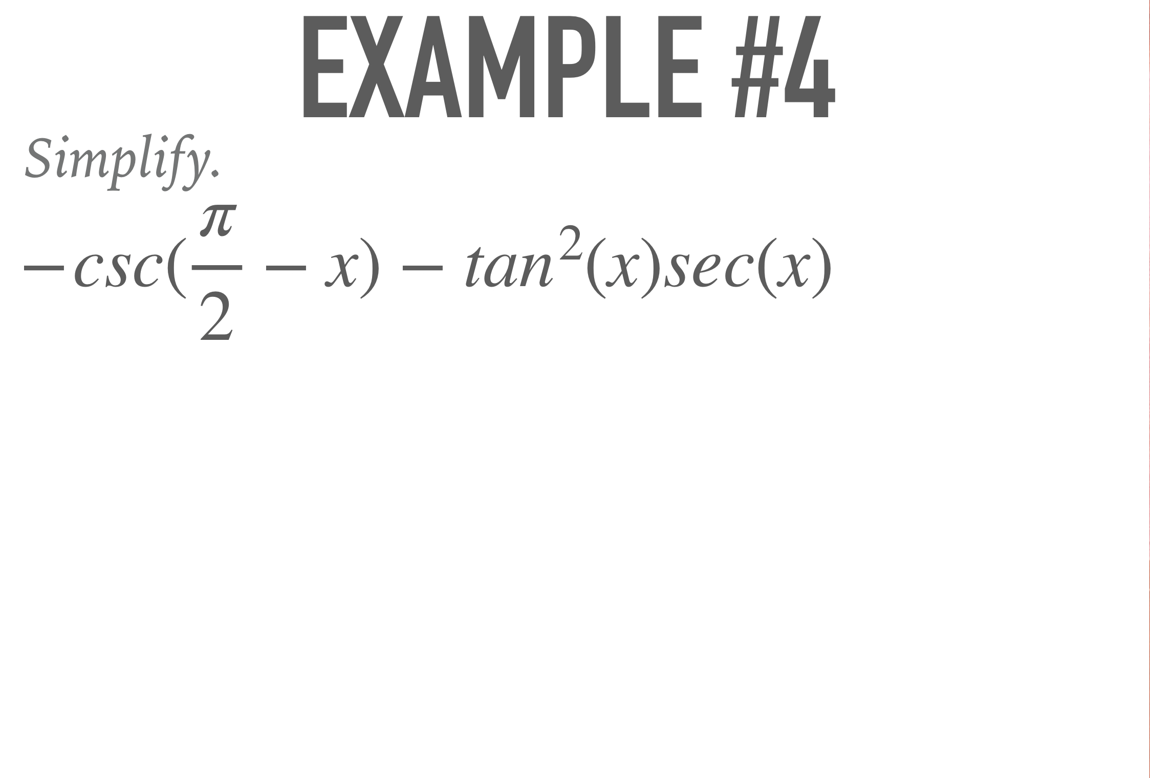 Math Iv