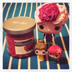 Funko pop et bougie Home inspiration by Yankee Candle