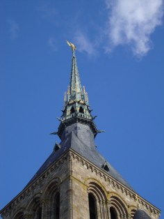 The spire