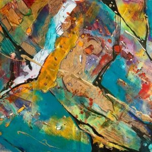 Laura Alunni pittura paintings Abstractart arte