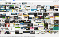 "A small sampling of the Google search results for ""free WordPress themes""."