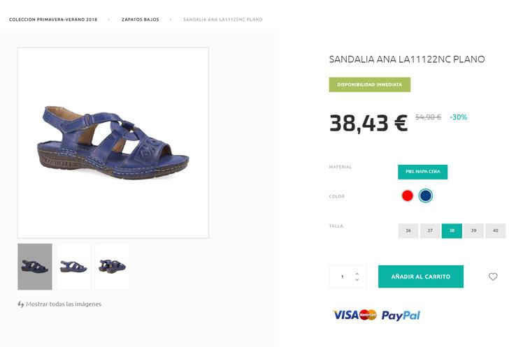 Zapatos De VeranoLaura Temporada Rebajas Online Azaña OPZuTiXk