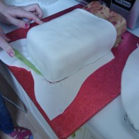 Red Campervan Cake - Happy Birthday To Me!!