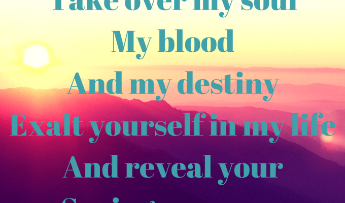 Take Over My Soul