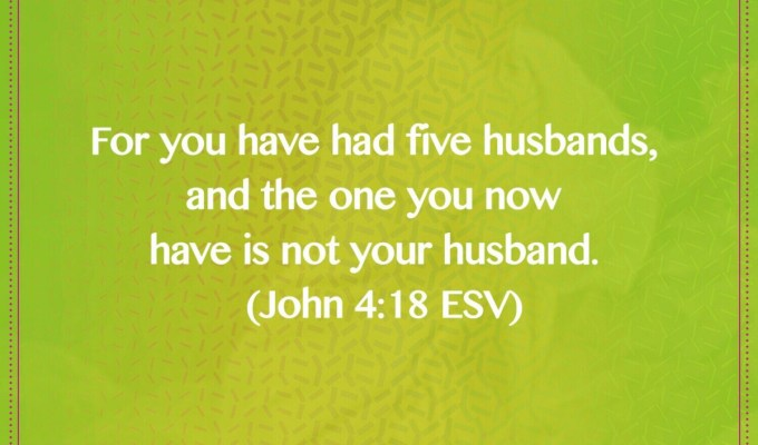 The One You Have Now Is Not Your Husband