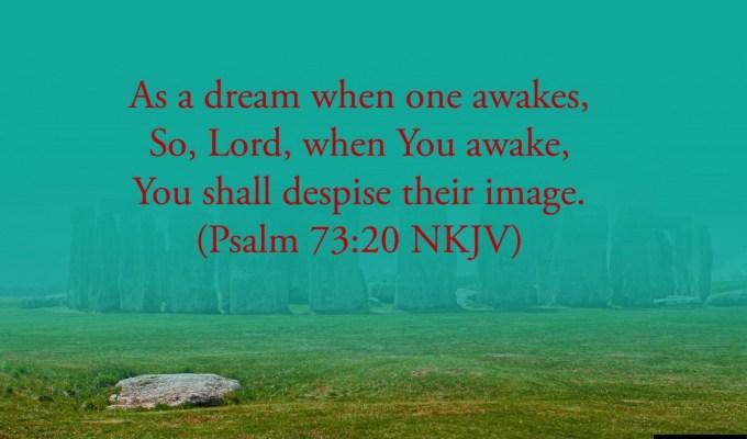 As A Dream