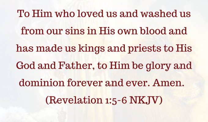Him Who Loved Us