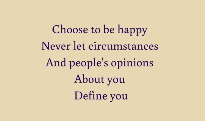 I Simply Choose
