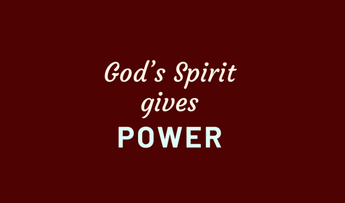 Power By The Spirit