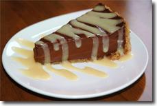 Seed Chocolate Caramel Pie