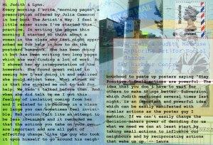 art for social change postcard