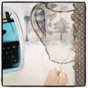 art journal page by Laura Bucci