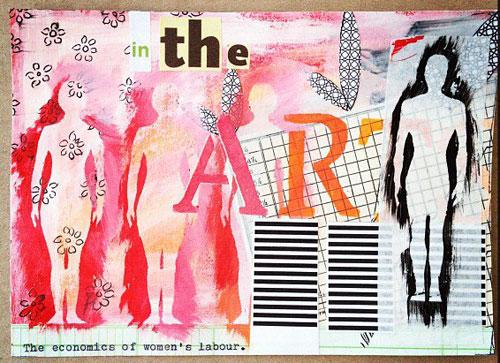 Mayworks mail art exhibit