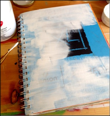 journal cover before