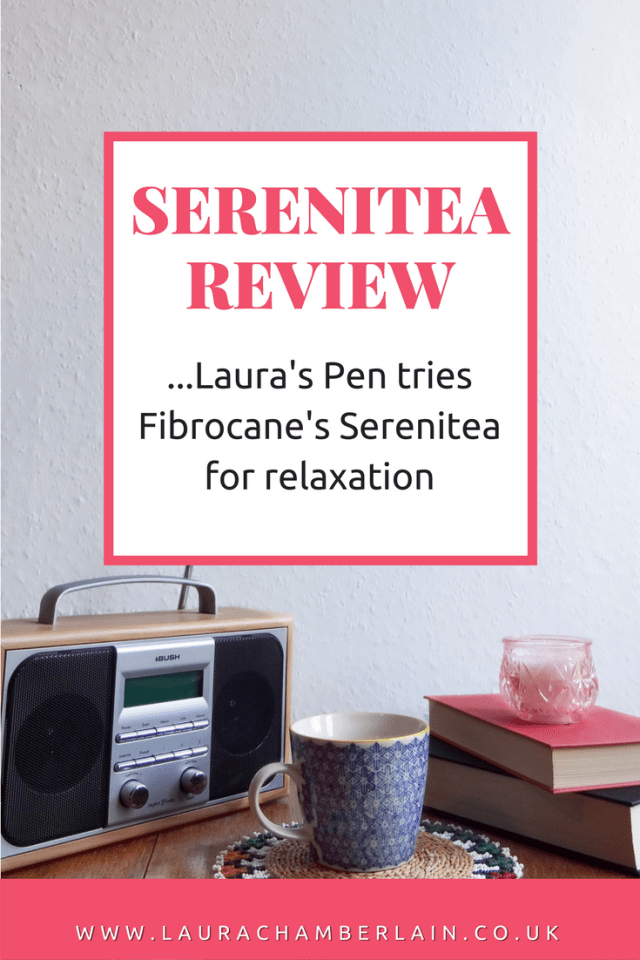Review of Fibrocane's Serenitea for relaxation
