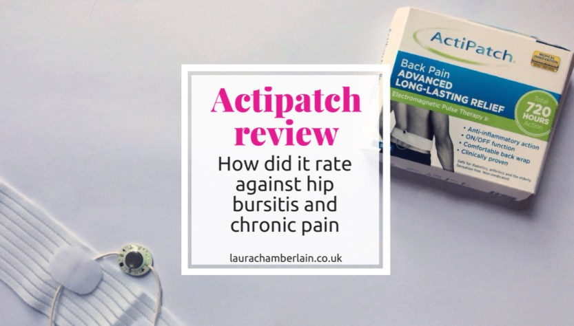 Actipatch review for Trochanteric Bursitis and Chronic Pain