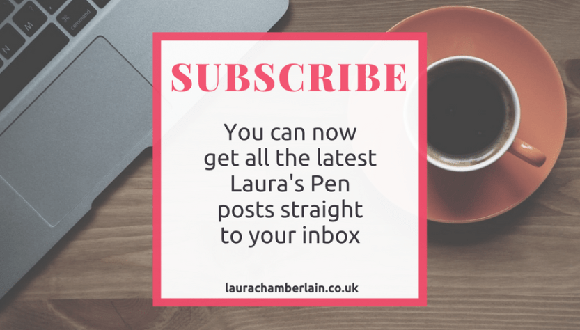 Subscribe to the all new Laura's Pen newsletter