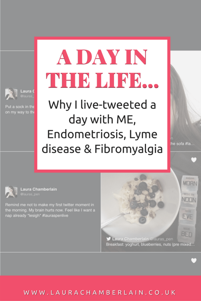 Why I live-tweeted a day with ME, Endometriosis, Lyme disease and fibromyalgia